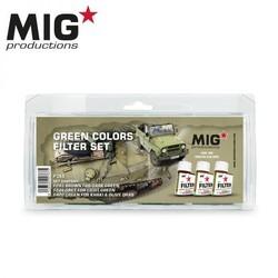 Green Colors Filter Set - MIG Productions - MIG-P265
