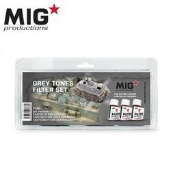 Grey Tones Filter Set - MIG Productions - MIG-P266