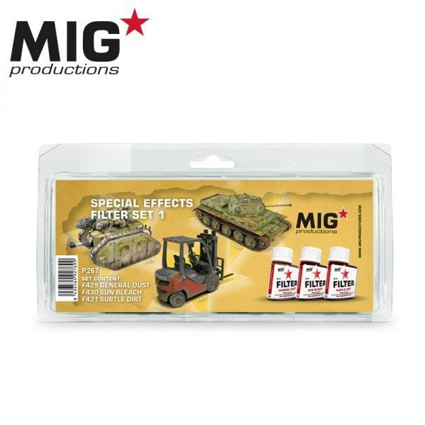 Mig Productions Special Effects Filter Set 1 - MIG Productions - MIG-P267