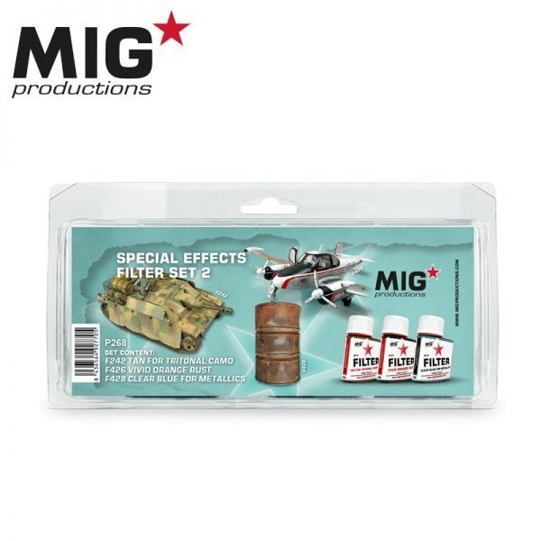 Mig Productions Special Effects Filter Set 2 - MIG Productions - MIG-P268