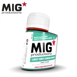 Light Grey-Green Wash - 75ml - MIG Productions - MIG-P279