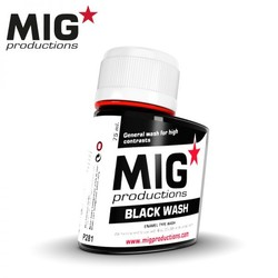 Black Wash - 75ml - MIG Productions - MIG-P281