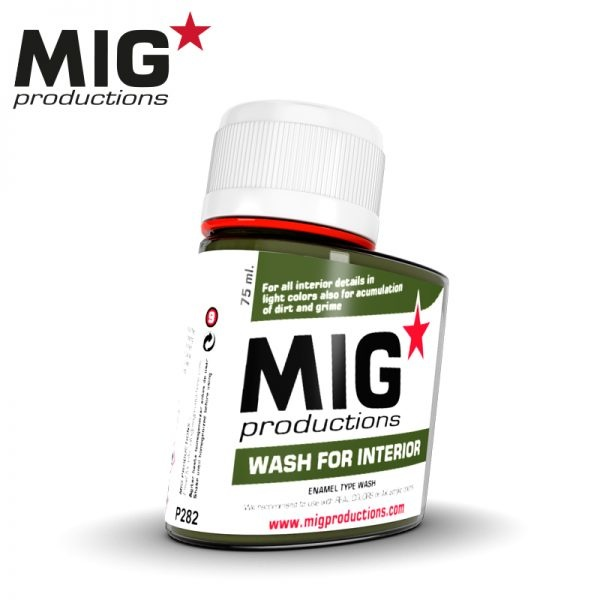 Mig Productions Wash for interior - 75ml - MIG Productions - MIG-P282