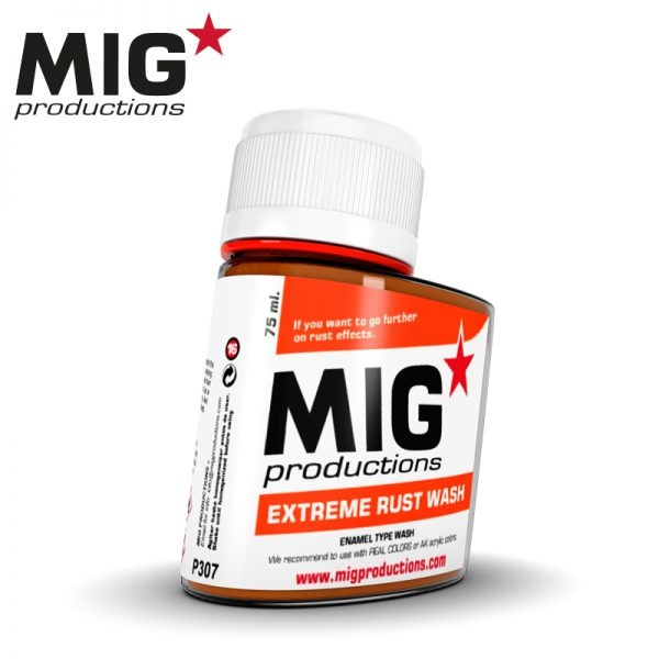Mig Productions Extreme Rust Wash - 75ml - MIG Productions - MIG-P307