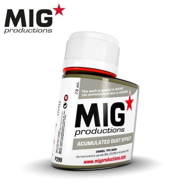 Mig Productions Acumulated Dust Effect - 75ml - MIG Productions - MIG-P299