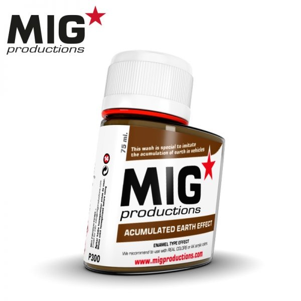 Mig Productions Acumulated Earth Effect - 75ml - MIG Productions - MIG-P300