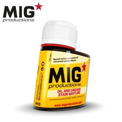 Oil and Grease stain Mixture - 75ml - MIG Productions - MIG-P410