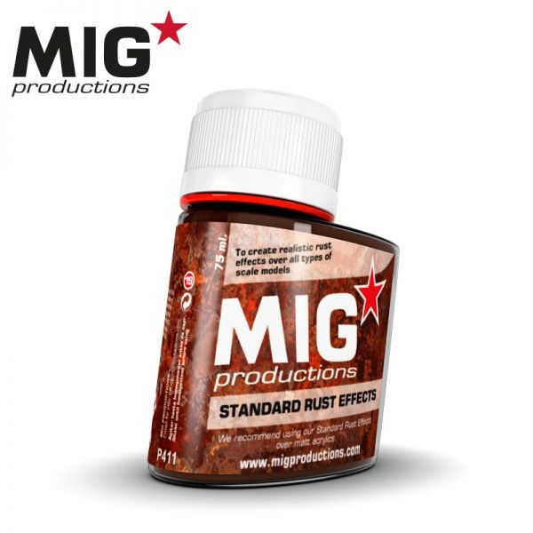 Mig Productions Standard Rust Effects - 75ml - MIG Productions - MIG-P411