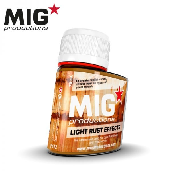 Mig Productions Light Rust Effects - 75ml - MIG Productions - MIG-P412
