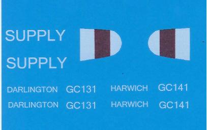 Black Lion Decals WW-1 English Gun / Supply carrier - Scale 1/35 - Black Lion Decals - BLD35009
