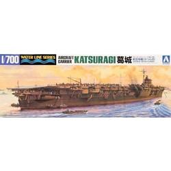 """Japanese Aircraft Carrier """"Katsuragi"""" - Scale 1/700 - Aoshima - AOA14875"""