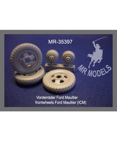 Mr Modellbau Frontwheels Ford Maultier - Scale 1/35 - Mr Modellbau - MR-35397
