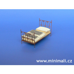 Single Bed - Scale 1/48 - Minimali Productions - Mii 049