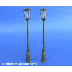 Street Lamps - Scale 1/48 - Minimali Productions - Mii 047