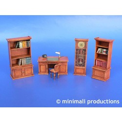 Office Furniture - Scale 1/48 - Minimali Productions - Mii 046