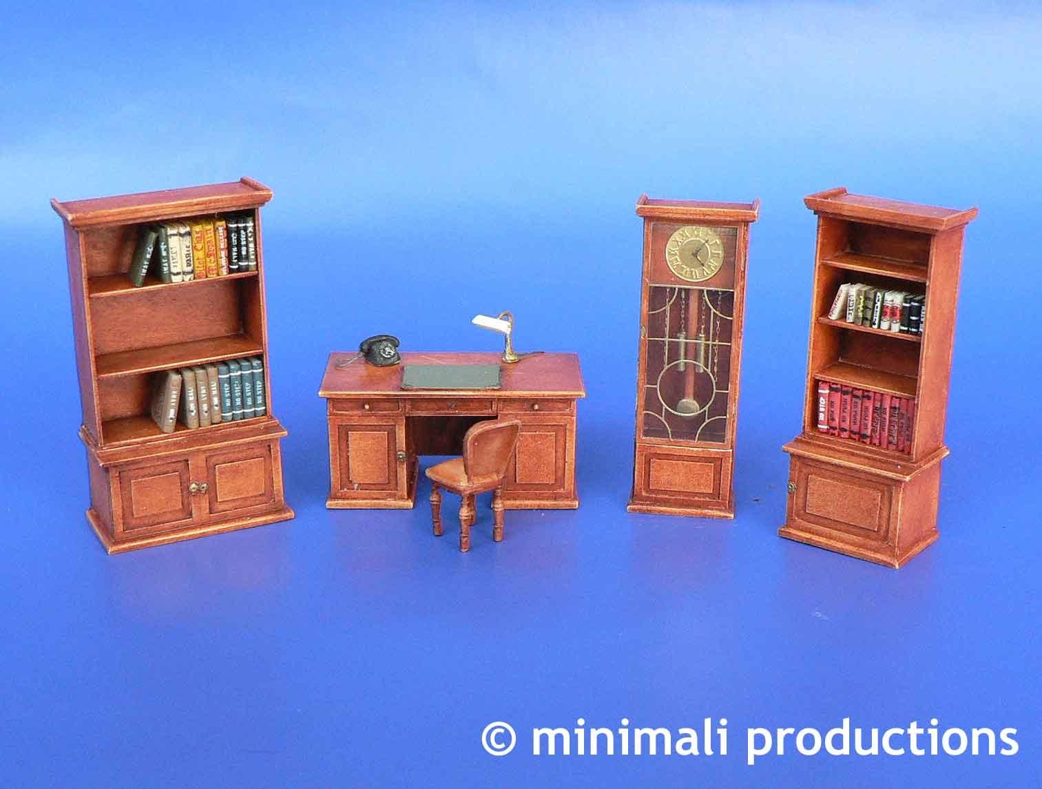 Minimali Productions Office Furniture - Scale 1/48 - Minimali Productions - Mii 046