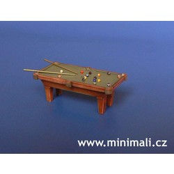 Billiard Table - Scale 1/48 - Minimali Productions - Mii 044