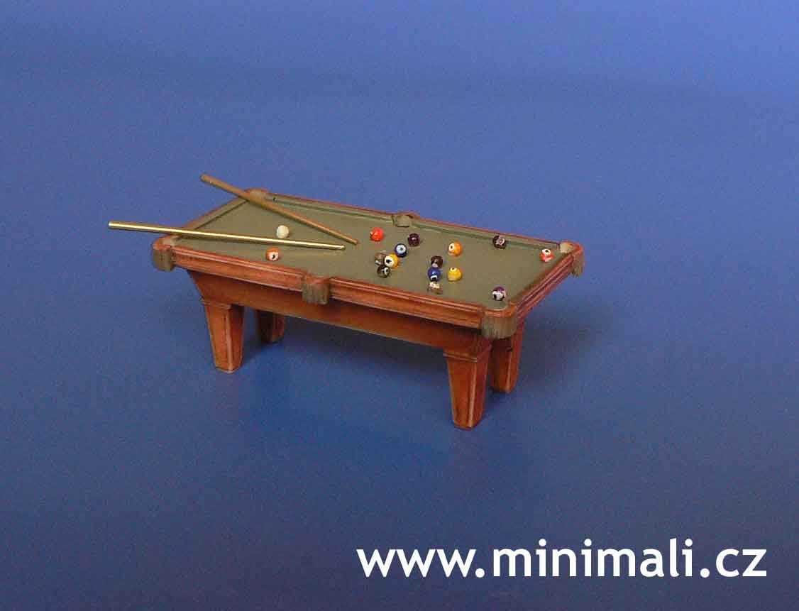 Minimali Productions Billiard Table - Scale 1/48 - Minimali Productions - Mii 044