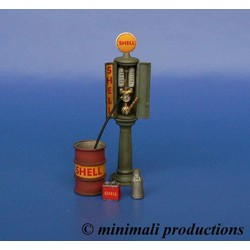 Gas Station Pump - Scale 1/48 - Minimali Productions - Mii 043
