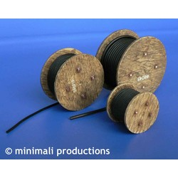 Cable Reel - Scale 1/48 - Minimali Productions - Mii 040