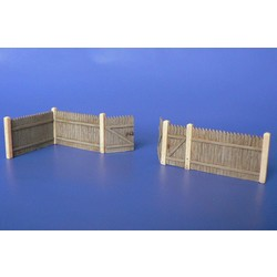 Wooden Corral - Scale 1/72 - Minimali Productions - Mii 024