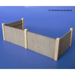 Wooden Corral - Scale 1/48 - Minimali Productions - Mii 023
