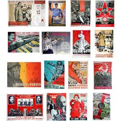Soviet Propaganda Posters WWII - Scale 1/48 - Minimali Productions - Mii 018