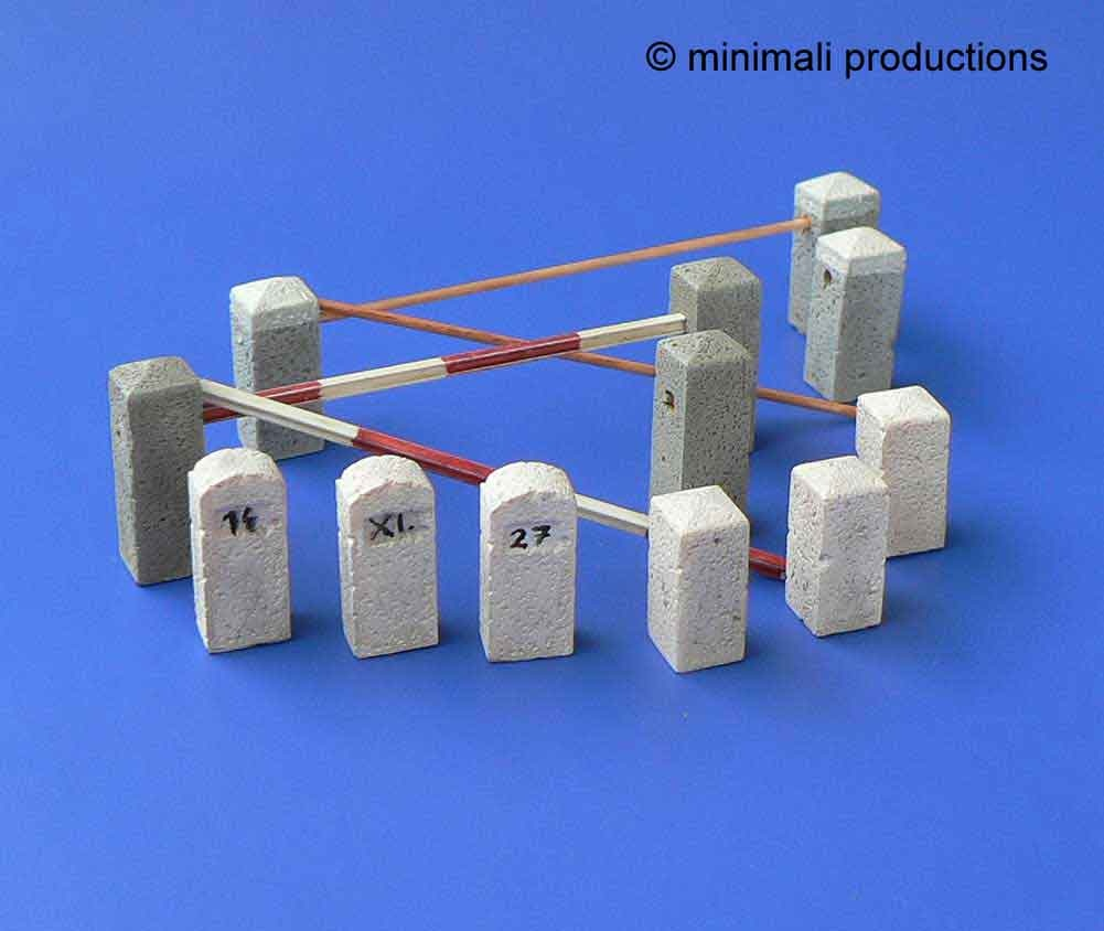 Minimali Productions Guard Stones - Scale 1/48 - Minimali Productions - Mii 017