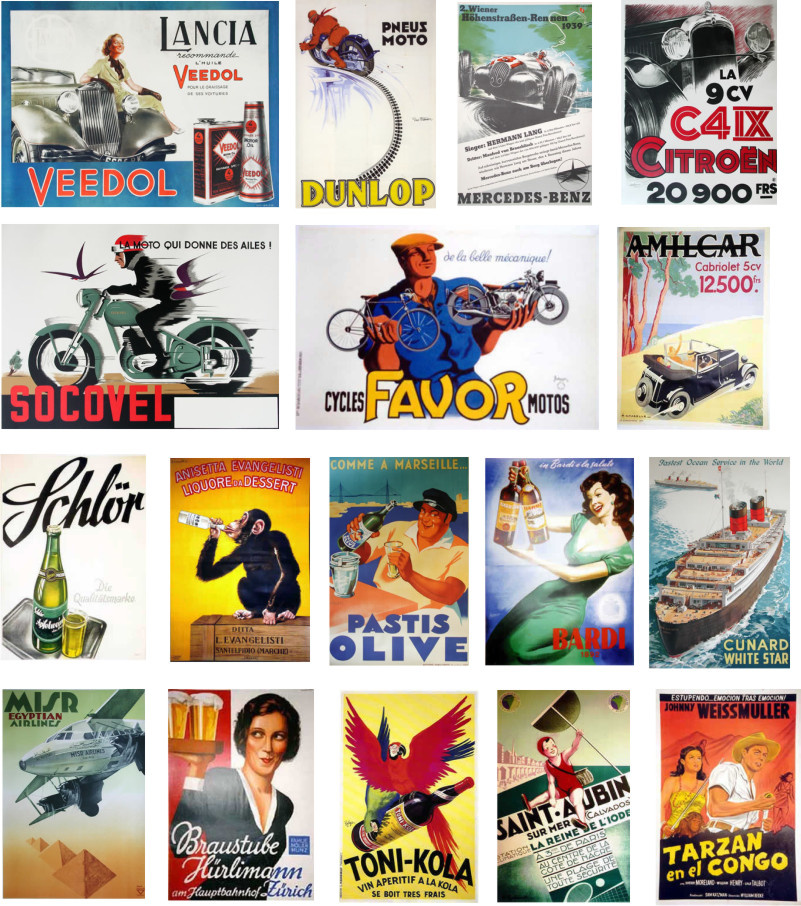 Minimali Productions Comercial Posters WWII - Scale 1/48 - Minimali Productions - Mii 016