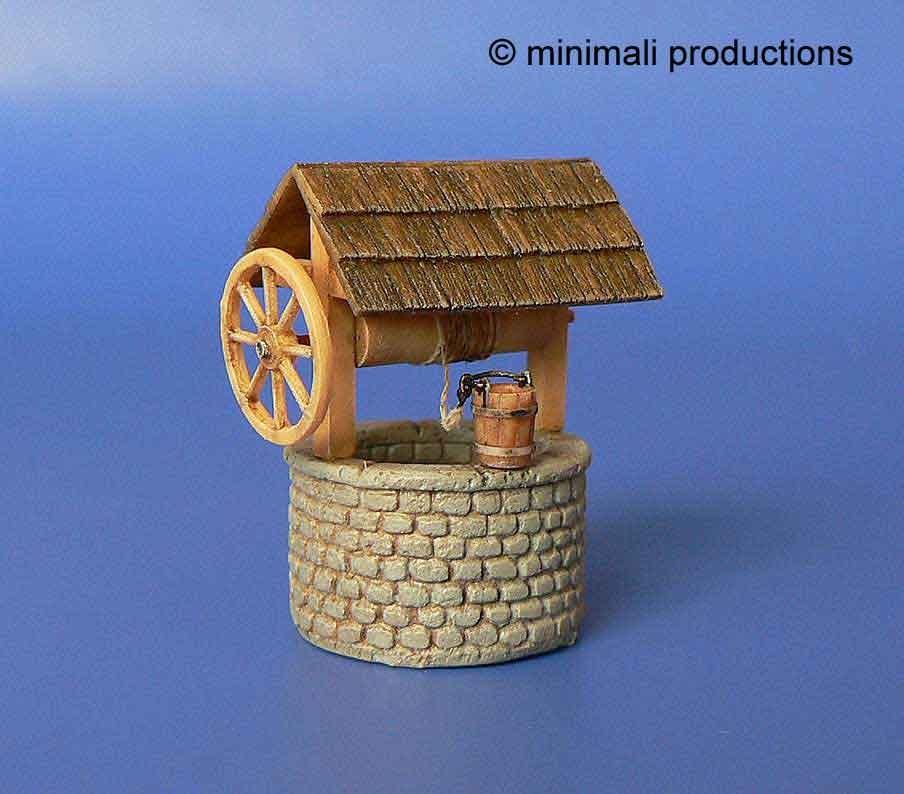 Minimali Productions Draw-Well - Scale 1/72 - Minimali Productions - Mii 012
