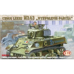 M3A3 - Liberation Of Paris - Scale 1/72 - Mirage Hobby - MIY 72676