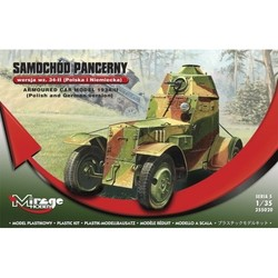 Armoured Car Model 1934/Ii Polish+German  - Scale 1/35 - Mirage Hobby - MIY 355020