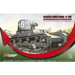 Vickers Armstrong 6Ton Mk F/B Light Tank  - Scale 1/35 - Mirage Hobby - MIY 355010