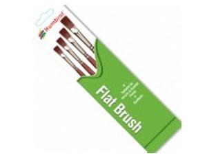 Humbrol Flat Brushes - Humbrol - HUL-4302