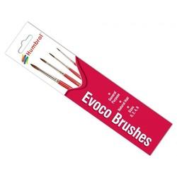 Evoco Brush Pack (0/2/4/6) - Humbrol - HUL-4150