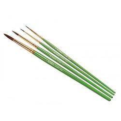 Coloro Brush Pack (00/1/4/8) - Humbrol - HUL-4050