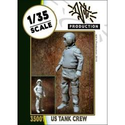 US modern tank crew - Scale 1/35 - Djiti - DJS35001