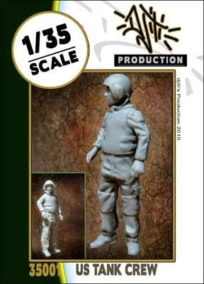 Djiti Production US modern tank crew - Scale 1/35 - Djiti - DJS35001