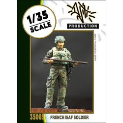 French ISAF soldier - Scale 1/35 - Djiti - DJS35005