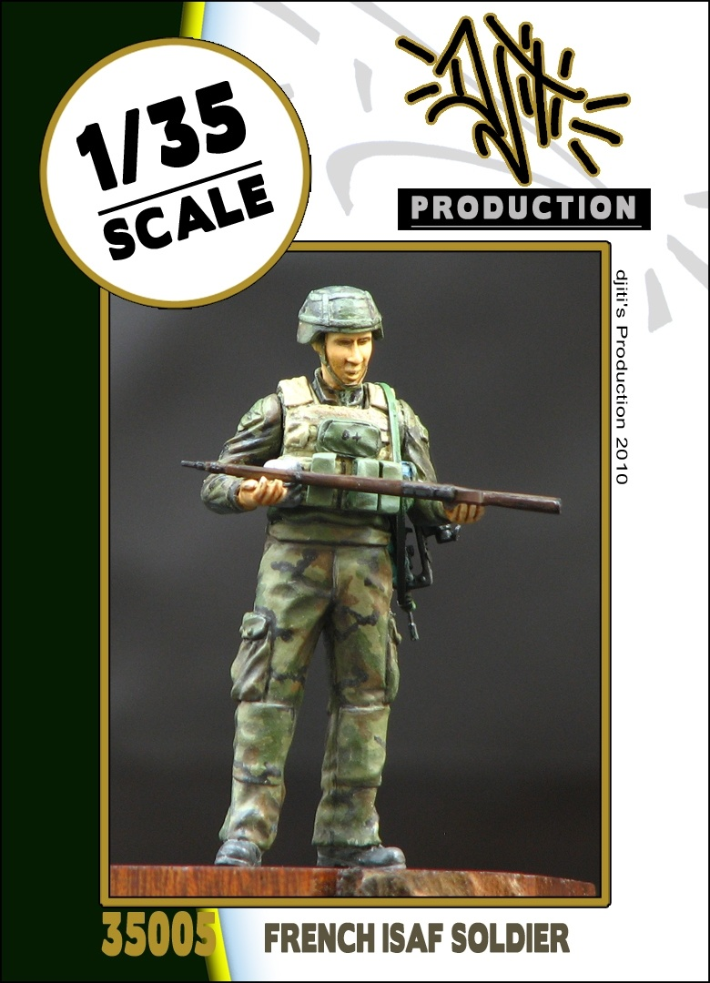 Djiti Production French ISAF soldier - Scale 1/35 - Djiti - DJS35005