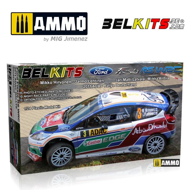 Belkits Ford Fiesta Wrc - Scale 1/24 - Belkits - BEL003