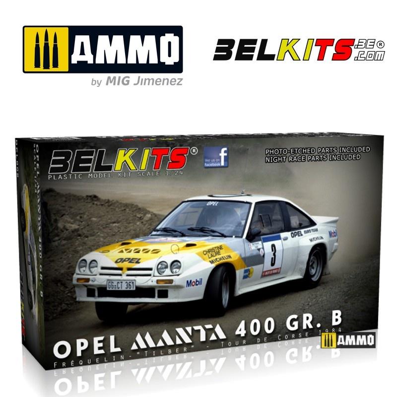 Belkits Opel Manta 400 Corse 1984 - Scale 1/24 - Belkits - BEL008