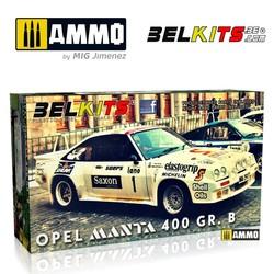 Opel Manta 400 Ieper 1984 - Scale 1/24 - Belkits - BEL009