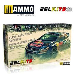 Vw Polo Monte Carlo 2015 - Scale 1/24 - Belkits - BEL010