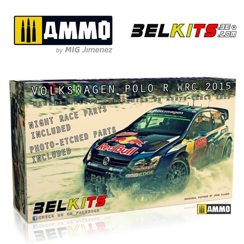 Belkits Vw Polo Monte Carlo 2015 - Scale 1/24 - Belkits - BEL010