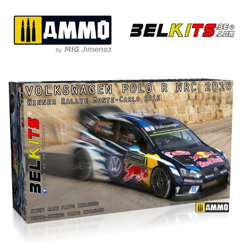 Belkits Vw Polo Monte Carlo 2016 - Scale 1/24 - Belkits - BEL011