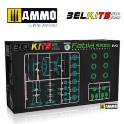 Transskoda Fabia S2000 Evo - Scale 1/24 - Belkits - BELTK002