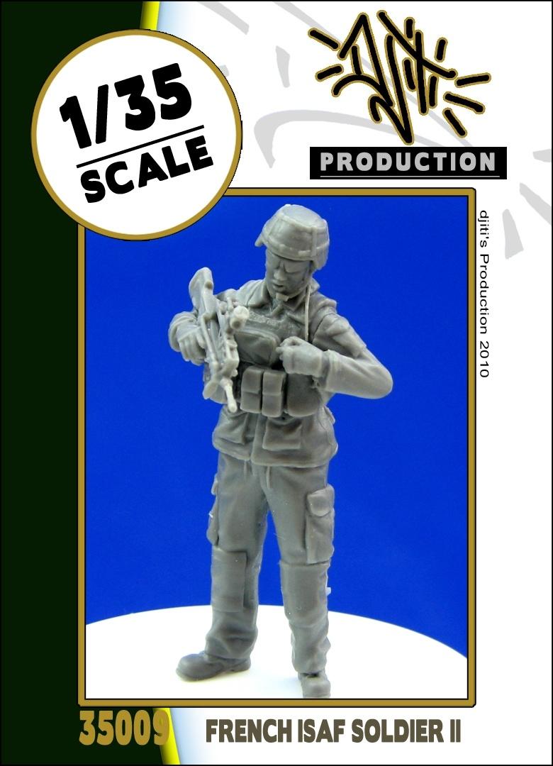 Djiti Production French ISAF soldier 2 - Scale 1/35 - Djiti - DJS35009