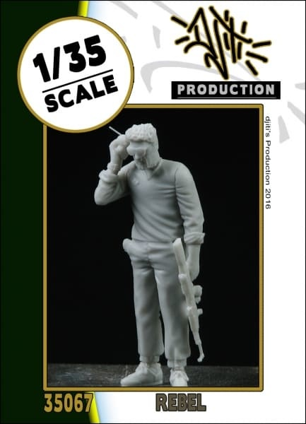 Djiti Production Rebel - Scale 1/35 - Djiti - DJS35067