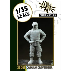 Canadian crew member - Scale 1/35 - Djiti - DJS35066